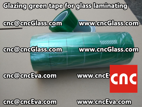 Green tape for safety glazing (1)